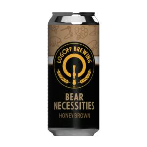 Bear Necessities Honey Brown Ale